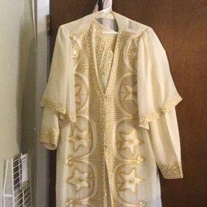 Maxi dress with matching jacket❤️